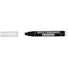 Маркер перманентний Centropen 8586 білий круглий 2,5 мм