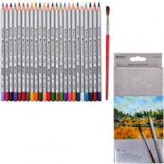Олівці кольорові 24 штуки MARCO 7120/24СВ акварельні