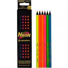 Олівці кольорові 6 штук MARCO 5500-6 СВ Neon