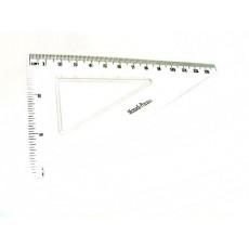 Трикутник 13 см MF2006/1 прозорий