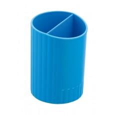 Підставка для ручок ZB.3000-02 2 відділення, синя