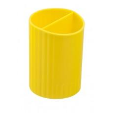 Підставка для ручок ZB.3000-08 2 відділення, жовта