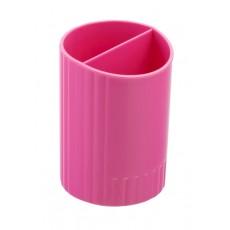 Підставка для ручок ZB.3000-10 2 відділення, рожева