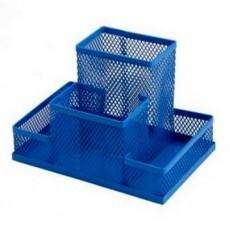 Підставка настільна ZB.3116-02 150*100*100мм металева, синя