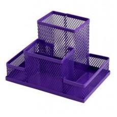 Підставка настільна ZB.3116-07 150*100*100мм металева, фіолетова