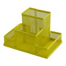 Підставка настільна ZB.3116-08 150*100*100мм металева, жовта
