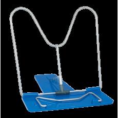 Підставка для книг метал + пластик ZB.3500-02 синя