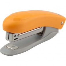 Степлер пластиковий Axent 4813-12-A Welle-2 №10 помаранчевий12 аркушів