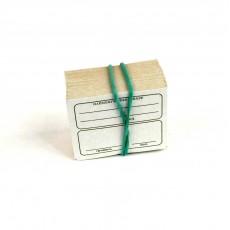Цінник картонний 5*4см 100 штук