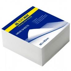 Папір для записів 80*80мм ВМ.2201 330 аркушів не склеєний, білий