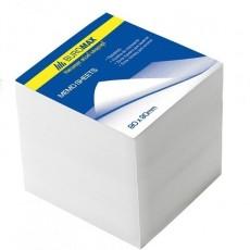 Папір для записів 90*90мм BM.2215  не склеєний, білий
