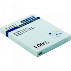Папір для записів з клейкою смужкою 75*100мм ВМ.2313-99 100 аркушів пастель