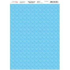 Папір дизайнерський Блакить неба 3 А4 250г ROSA 5311037