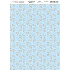 Папір дизайнерський Baby boy 3 250 г А4 ROSA 5311072