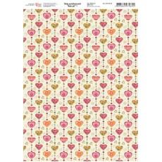 Папір дизайнерський Baby girl 1 250 г А4 ROSA 5311078