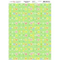 Папір дизайнерський Baby girl 2 250 г А4 ROSA 5311079