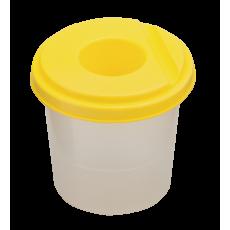Стакан - нерозливайко одинарний ZB.6900-08 жовтий