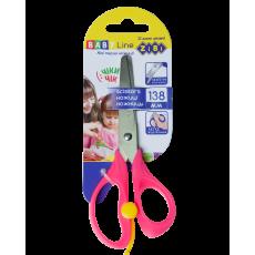 Ножиці дитячі 13,8 см ZB.5017-10 з поворотним механізмом, рожеві