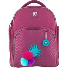 Рюкзак шкільний Kite K20-706S-3 Education Fruits каркасний рожевий ананас